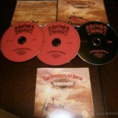 CDs de Música: BARON ROJO - 2 CD + DVD - LAS AVENTURAS DEL BARON - 25 ANIVERSARIO . Lote 46770859
