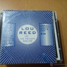 CDs de Música: LOU REED SET THE TWILIGHT REELING CD ALBUM PROMO RARO. Lote 46777818