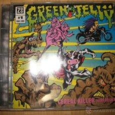 CDs de Música: CD GREEN JELLŸ ?/ JELLY – CEREAL KILLER SOUNDTRACK - 1993 - ALTERNATIVE ROCK, SOUNDTRACK, POP ROCK . Lote 46880179