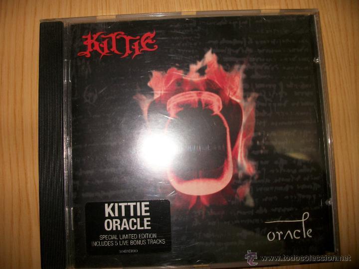 CD KITTIE ?– ORACLE - 2001 - HEAVY METAL (Música - CD's Heavy Metal)
