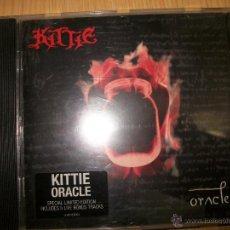 CDs de Música: CD KITTIE ?– ORACLE - 2001 - HEAVY METAL . Lote 46880384