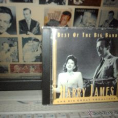 CDs de Música: BEST OF THE BIG BANDS - HARRY JAMES (CD 1995). Lote 46884051