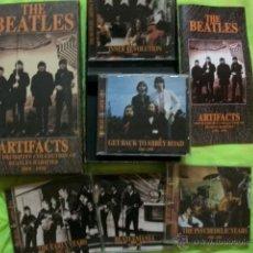 CDs de Música: THE BEATLES 5 CD ARTIFACTS CAJA DEFINITIVE COLLECTION OF RARITIES 1958-1970 CON LIBRETO. Lote 46889897