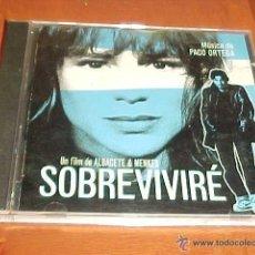 CDs de Música: SOBREVIVIRE MUSIC CD BANDA SONORA ORIGINAL SOUNDTRACK MUSICA DE PACO ORTEGA. Lote 46917147