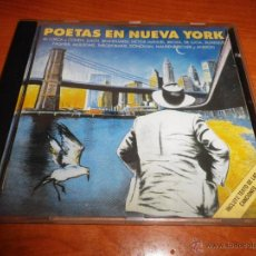 CDs de Música: POETAS EN NUEVA YORK CD ALBUM LORCA 1988 LEONARD COHEN LLUIS LLACH ANGELO BRANDUARDI PACO DE LUCIA. Lote 52570416