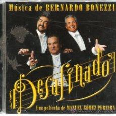CDs de Música: DOBLE CD BANDA SONORA DE BERNARDO BONEZZI : DESAFINADO . Lote 46925807