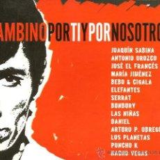 CDs de Música: CD TRIBUTO A BAMBINO ( JOAQUIN SABINA, ANTONIO OROZCO, BUNBURY, SERRAT, LOS PLANETAS, NACHO VEGAS ... Lote 46930284