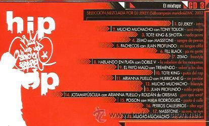 CDs de Música: CD HIP HOP EN ESPAÑOL II ( TOTE KING, HABLANDO EN PLATA, MUCHO MUCHACHO, PERROS CALLEJEROS, ZEMO - Foto 2 - 46930430