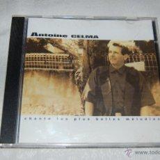 CDs de Música: ANTOINE CELMA CHANTE LES PIUS BELLES MÉLODIES. Lote 46935297