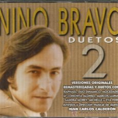 CDs de Música: DOBLE CD NINO BRAVO DUETOS 2(CON DUO DINAMICO, RAPHAEL, MOCEDADES, MARIA CONCHITA ALONSO, EVA FERRI. Lote 46943205