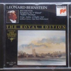 CDs de Música: THE ROYAL EDITION. LEONARD BERNSTEIN. SONY. 1 CD. LUDWIG VAN BEETHOVEN. Lote 46982272
