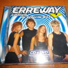 CDs de Música: ERREWAY EL DISCO DE REBELDE WAY CD + DVD DEL AÑO 2006 CONTIENE 19 TEMAS + 11 VIDEOS. Lote 46990504