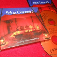CDs de Música: SALON ORIENTAL 3 VOICES & VIBES FROM ORIENT 2CD 2003. Lote 46998333