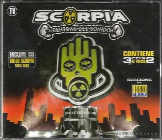 TRIPLE CD SCORPIA CENTRAL DEL SONIDO ( MAX MUSIC ) (Música - CD's Techno)