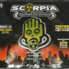 CDs de Música: TRIPLE CD SCORPIA CENTRAL DEL SONIDO ( MAX MUSIC ) . Lote 51654689