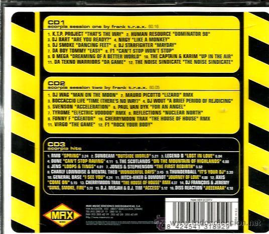 CDs de Música: TRIPLE CD SCORPIA CENTRAL DEL SONIDO ( MAX MUSIC ) - Foto 2 - 51654689