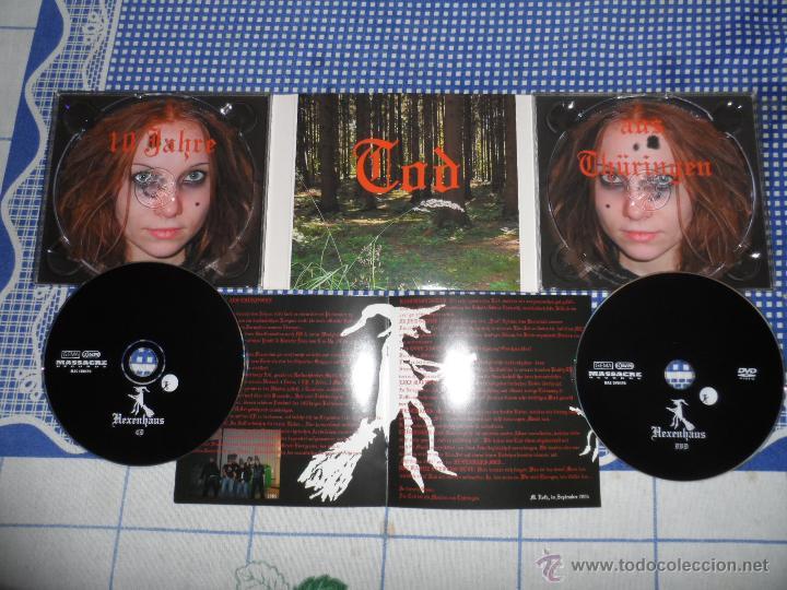 CDs de Música: EISREGEN HEXENHAUS CD+DVD METALLICA MEGADETH ANTRHAX KREATOR - Foto 2 - 47024598