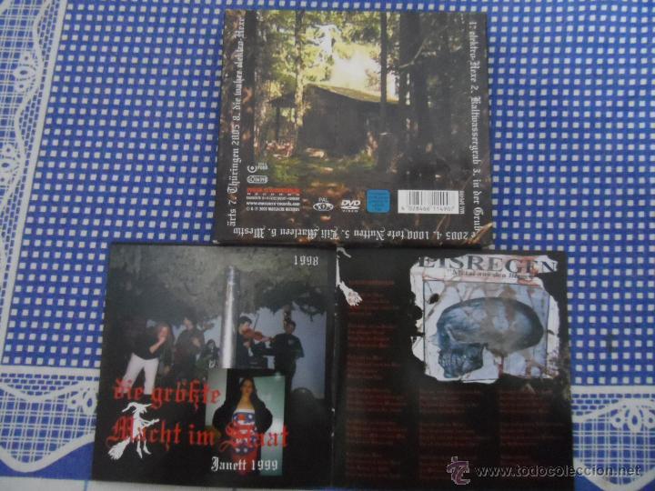 CDs de Música: EISREGEN HEXENHAUS CD+DVD METALLICA MEGADETH ANTRHAX KREATOR - Foto 3 - 47024598