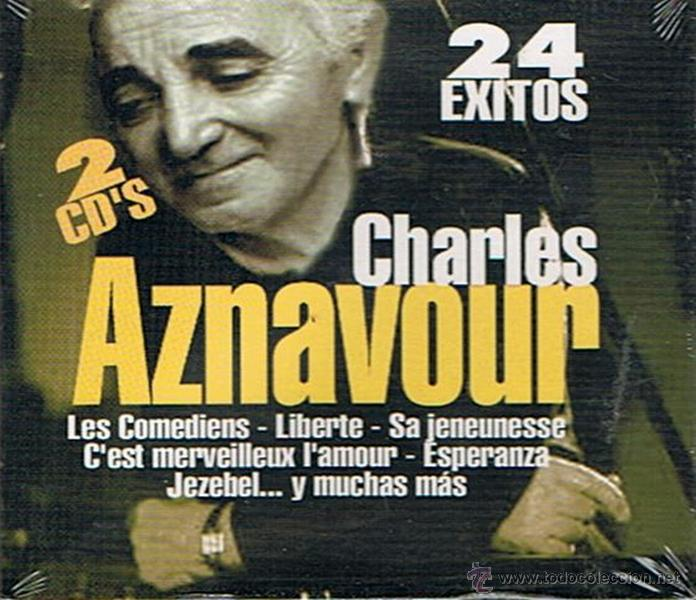 CHARLES AZNAVOUR 24 ÉXITOS (PRECINTADO) (Música - CD's World Music)