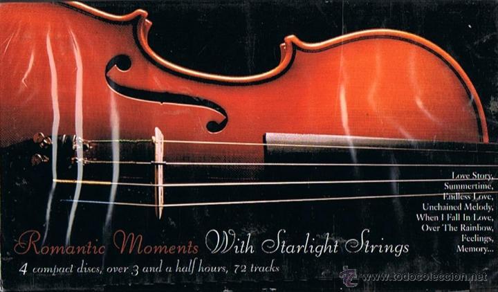 ROMANTIC MOMENTS WITH STARLIGH STRINGS (PRECINTADO) (Música - CD's Clásica, Ópera, Zarzuela y Marchas)