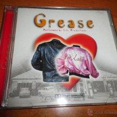CDs de Música: GREASE PERFORMED BY C.C. PRODUCTIONS CD ALBUM CANTADO EN INGLES CONTIENE 24 TEMAS. Lote 47067011