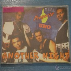 CDs de Música: CD PROMOCIONAL,DE MÚSICA DE,PROYECTO UNO:ANOTHER NIGHT,NºB192. Lote 47078396