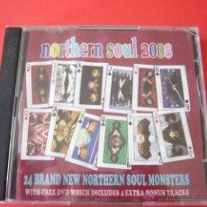 CDs de Música: NORTHERN SOUL 2008. CD+DVD. Lote 47078413