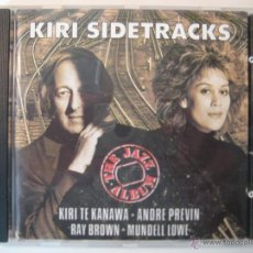CDs de Música: CD KIRI SIDETRACKS - THE JAZZ ALBUM. Lote 47078763