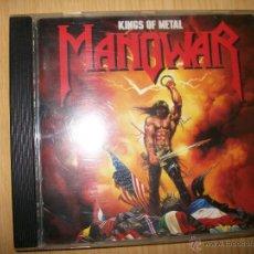 CDs de Música: CD MANOWAR ?– KINGS OF METAL - 1988 - HEAVY METAL. Lote 47079631