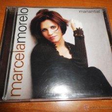 CDs de Música: MARCELA MORELO MANANTIAL CD ALBUM DEL AÑO 1997 CONTIENE 10 TEMAS CORAZON SALVAJE. Lote 77826530