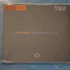 CDs de Música: CD PROMOCIONAL,DE MÚSICA DE,SOUND FACTORY:COME TAKE CONTROL,NºB153. Lote 47084206