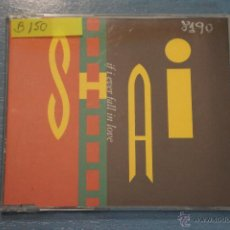 CDs de Música: CD PROMOCIONAL,DE MÚSICA DE,SHAI:IF I EVER FALL IN LOVE,NºB150. Lote 47084240