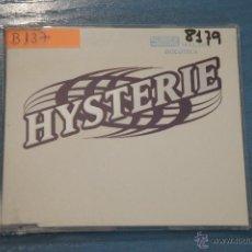 CDs de Música: CD PROMOCIONAL,DE MÚSICA DE,HYSTERIE:YOU´RE THE ONE,NºB137. Lote 47084362