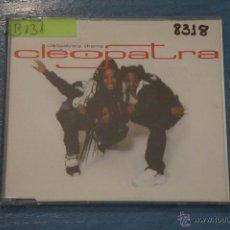CDs de Música: CD PROMOCIONAL,DE MÚSICA DE,CLEOPATRA:CLEOPATRA THEME,NºB131. Lote 47084447