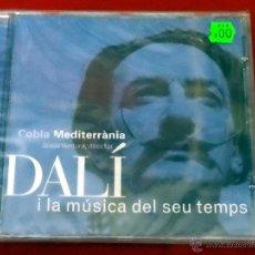CDs de Música: DALI I LA MUSICA DEL SEU TEMPS CD COBLA MEDITERÁNIA PICAP 91 0356-02 PRECINTADO . Lote 84009495