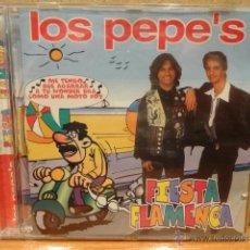 CDs de Música: LOS PEPE'S. FIESTA FLAMENCA. CD / MAX MUSIC - 1996. 12 TEMAS. CALIDAD LUJO.. Lote 47122126
