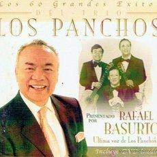 CDs de Música: LOS 60 GRANDES ÉXITOS DEL TRÍO LOS PANCHOS ( 3CD´S + 1 DVD INÉDITO). Lote 47131179
