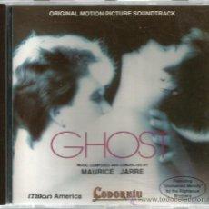 CDs de Música: CD BANDA SONORA : GHOST , MAURICE JARRE ( EDICION ESPECIAL PARA CAVAS CODORNIU ) . Lote 47133628