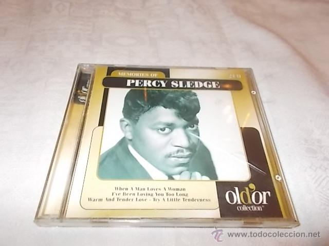 PERCY SLEDGE MEMORIES (Música - CD's Jazz, Blues, Soul y Gospel)