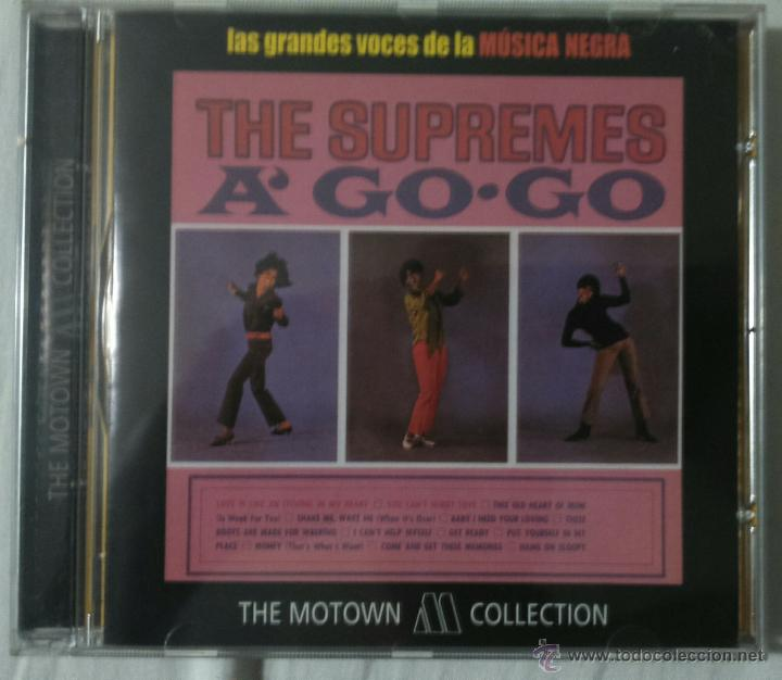 CD. A GO GO - THE SUPREMES - (Música - CD's Jazz, Blues, Soul y Gospel)