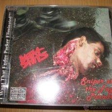 CDs de Música: CD MEAT SHITS ?– SNIPER AT THE FAG PARADE - EDICION NO CENSURADA - 2002 - GRINDCORE, DEATH METAL . Lote 47204736
