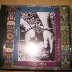 CDs de Música: CD PAIN KILLER ?– GUTS OF A VIRGIN & BURIED SECRETS - 1998 - GRINDCORE - EDICION MUY RARA. Lote 47205032