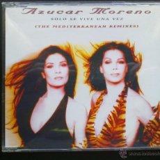 CDs de Música: AZUCAR MORENO-SOLO SE VIVE UNA VEZ- CD MAXI. Lote 47253310