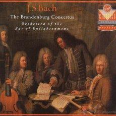 CDs de Música: J.S.BACH. THE BRANDENBURG CONCERTOS. EN MUY BUEN ESTADO 2 CD´S MAS LIBRETO.. Lote 47259770