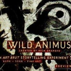 CDs de Música: WILD ANIMUS. CREATED BY RICH SHAPERO. 2 DISCOS MAS LIBRETO.. Lote 47261339