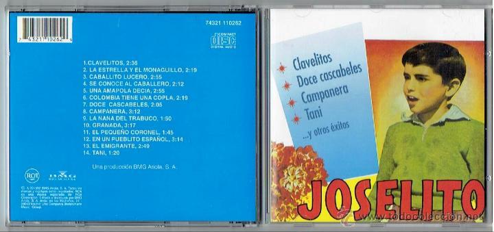 CD JOSELITO (Música - CD's Flamenco, Canción española y Cuplé)