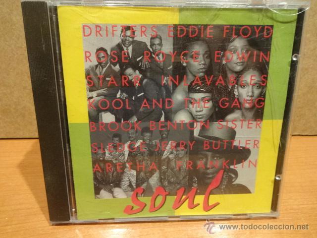 SOUL. VARIOS ARTISTAS. CD / BARSA PROMOCIONES - 1996. 10 TEMAS. CALIDAD LUJO. (Música - CD's Jazz, Blues, Soul y Gospel)