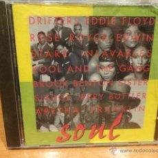 CDs de Música: SOUL. VARIOS ARTISTAS. CD / BARSA PROMOCIONES - 1996. 10 TEMAS. CALIDAD LUJO.. Lote 47330885