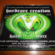 CDs de Música: HARDCORE CREATION VOL. 3 - 3 CD ALBUM DEL AÑO 2003 DEEVOID DJ D DJ MANTES THE STUNNED GUYS TRIPLE CD. Lote 47348849