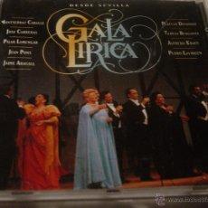 CDs de Música: GALA LIRICA. DESDE SEVILLA. MONTSERRAT CABALLE. JOSE CARRERAS. PLACIDO DOMINGO ... CD. IMPECA (#). Lote 47349088